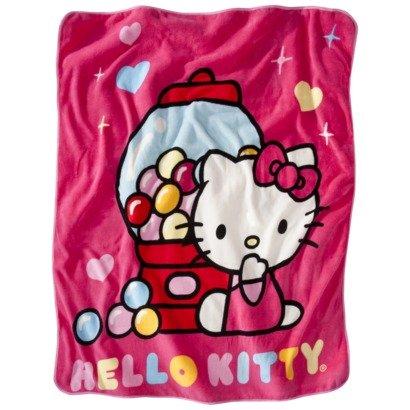 Hello Kitty Pillow And Throw Blanket Set : Hello Kitty Throw Blankets