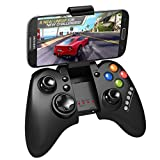 KINGEAR PDK0012 New Bluetooth Controller Ipega PG-9021 Wireless Gamepad Joystick For PC iPad iPhone Samsung Android iOS (Color: Black, Tamaño: Waterproof Bluetooth Shower)