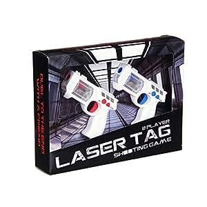Mini Laser Tag Shooting Game 2 Player Toy Gun Lazer