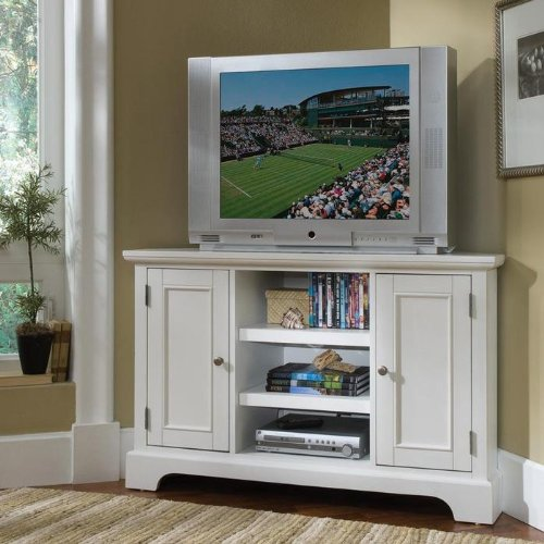 Amazon.com: White - Television Stands & Entertainment Centers