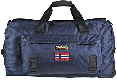 Borsa Borsone Trolley Napapijri Tracolla Uomo Men Bag Donna Viaggio  Palestra n5z29 BLU 97074efbf99