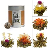 Flowering Tea Sampler Gift Tin (5 hand-tied blooms)