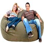 Cozy Sack 6-Feet Bean Bag Chair, Larg...
