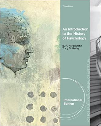 An Introduction to the History of Psychology written by Tracy B. Henley