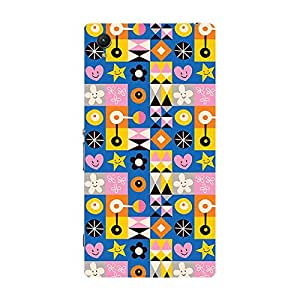 Garmor Designer Silicone Back Cover For Sony Xperia Z1