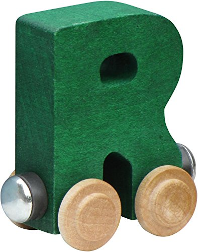 NameTrain Bright Finish Letter Cars - R (Colors May vary)
