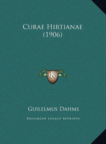 Curae Hirtianae (1906)