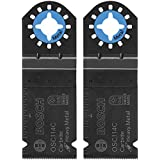 Bosch OSC114C-2 1-1/4-Inch Multi-Tool Carbide Tooth Plunge Cut Blade, 2-Pack