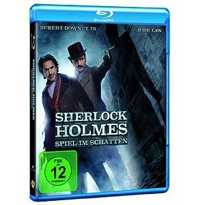 51l3BL0pSnL. AA300  Sherlock Holmes 2: Spiel im Schatten [Blu ray] nur 12,99€ inkl. Lieferung