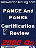 img - for PANCE and PANRE Certification Review (Certification for PANCE and PANRE Book 1) book / textbook / text book
