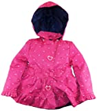 Pink Platinum Girls Ambers Bow Allover Hearts Spring Jacket