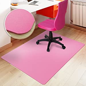 Amazon Com Office Marshal 174 Office Chair Mat Pink