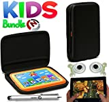 Navitech Kids Bundle Pack Including Child Friendly Black Eva hard case,Two touchscreen gaming controllers and Stylus For the Apple iPad Mini 16GB Wi-Fi (White) / Apple iPad Mini - Black (16GB, Wifi)