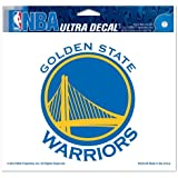 "NBA Golden State Warriors 91383010 Multi-Use Colored Decal, 5"" x 6"""