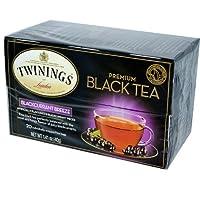 Twinings Blackcurrant トワイニングティーブラックカラント20杯分 並行輸入品