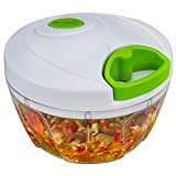 Brieftons Manual Food Chopper: Compact & Powerful Hand Held...