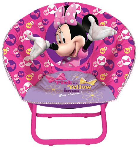 Disney Minnie Mouse Toddler Saucer Chair - 1