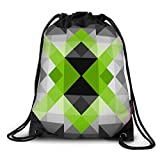 FUNKYLICIOUS Drawstring Polyester Abstract geometric I Design (Multicolour)