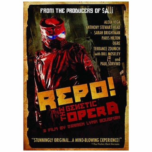 Terrance Zdunich - Repo The Genetic Opera (Subtitled, Dolby, AC-3, Widescreen)