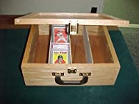 Oak Card Box