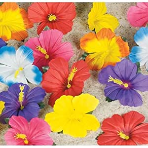 Click to buy Tropical Flowers for Tabletop Decoration (24)from Amazon!