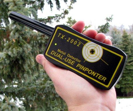 Finder-Gold DUAL-USE Pinpointer Kleinteil Finder TX-2002 Zubehörteil für die Professionelle Schatzsuche 23 cm lang