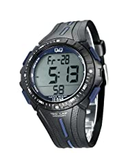 Q&Q Black Dial Men's Watch - M102J003Y