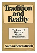 Tradition and reality;: The impact of…