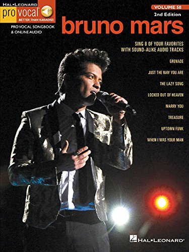Pro Vocal Men's Edition: Mars Bruno Volume 58: Bruno Mars
