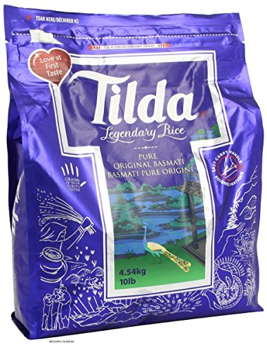 Tilda Basmati Rice, 10-Pound Bag (Tilda Basmati Rice Legendary Rice compare prices)