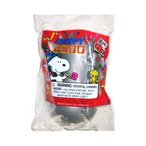 Wendys Kids Meal Snoopy 2000 Time Capsule Toy w/Lock