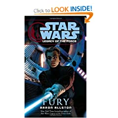 Fury (Star Wars: Legacy of the Force, Book 7) by Aaron Allston