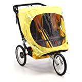 BOB Weather Shield For Duallie Sport Utility Stroller Models in Yellow ~ BOB