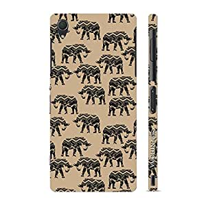 Enthopia Designer Hardshell Case Elephance Back Cover for Sony Xperia Z3