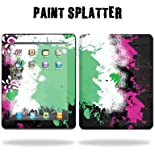 Protective Vinyl Skin Decal Cover for Apple iPad tablet e-reader 3G or Wi-Fi Sticker Skins - Paint Splatter