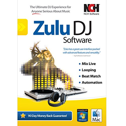 Zulu DJ Software - Complete DJ Mixing Program for Professionals and Beginners [Download] (Computer Mixing Software compare prices)