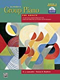 Alfred's Group Piano For Adults Student Book, Bk 2: An Innovative Method Enhanced With Audio and Midi Files For Practice and Performance, Comb Bound Book and CD-ROM