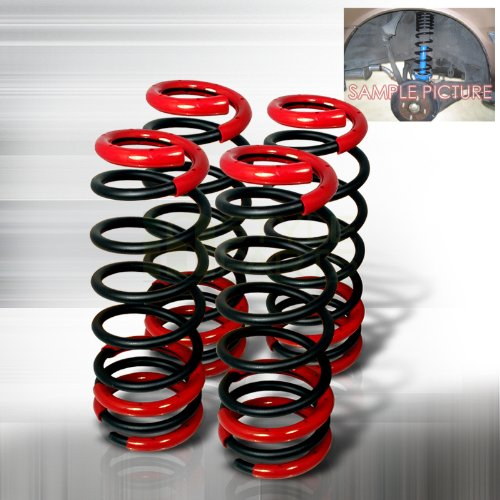 Spec-D Tuning CL-ACD90BK-SD Honda Accord Lx Dx Ex Black Lowering Springs (1990 Honda Accord Lx compare prices)