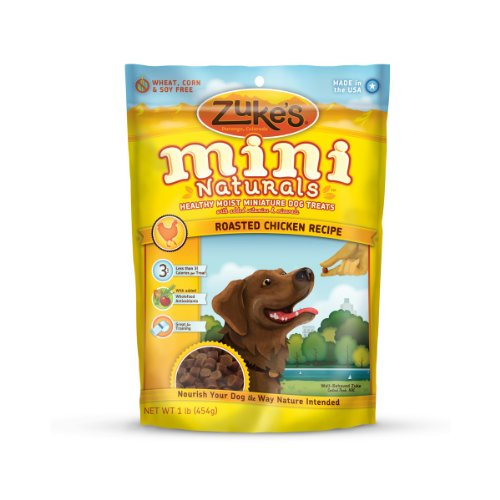 Zuke's Mini Naturals Dog Treats Roasted Chicken Recipe, 16-Ounce