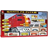Life-Like Trains  HO Scale Santa Fe Flyer Electric Train Set
