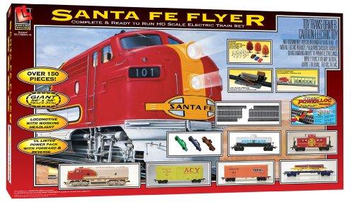 Life-Like Trains Ho Scale Santa Fe Flyer Electric Train Set