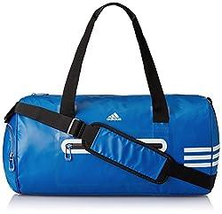 adidas Climacool Polyester Travel Bag (Blue/Grey)