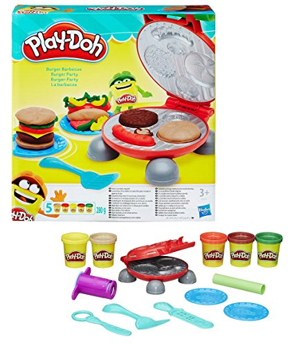 hasbro-play-doh-b5521eu4-burger-party-knete