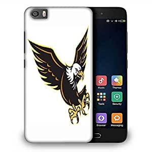 Snoogg american bald eagle flying Designer Protective Back Case Cover For Samsung Galaxy J1