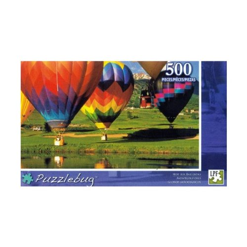 Puzzlebug 500 Piece Puzzle ~ Hot Air Balloons