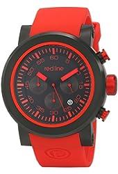 red line Men's RL-50050-BB-01-RDAS Torque Sport Analog Display Japanese Quartz Red Watch