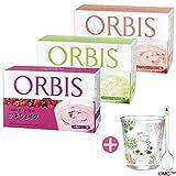 オルビス(ORBIS) 食欲の秋応援!ダイエットシェイク3週間セットB(4種のベリー味・マスカット&アロエ味・ヨーグルト&ピンクグレープフルーツ味、各味100g×7食分) ムーミンタンブラー&スプーン付き 100144