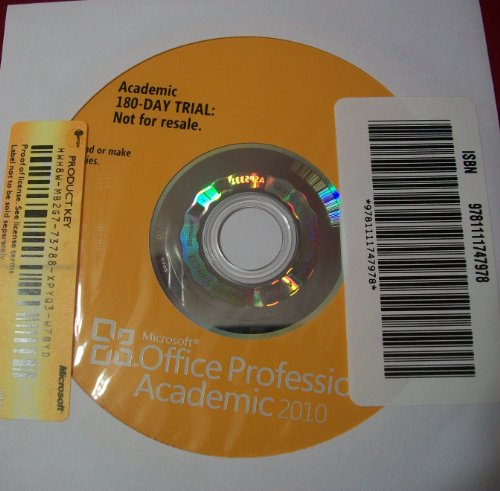 Microsoft Office 2010 180-day Trial CD