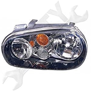 HELLA 963711131 Volkswagen Golf MkIV Driver Side Headlight Assembly