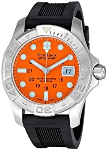 Victorinox Swiss Army Men's 241041 Professional Dive Master Orange Dial Watch